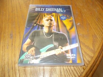Billy Sheehan Bass Day '97 Dvd Brand New Sealed