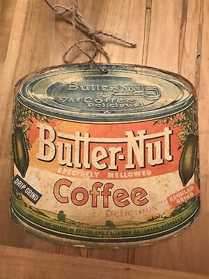 Vintage Butternut Coffee Sign