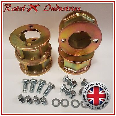 """Land Rover Defender 90 110 Discovery 1 50mm / 2"""" inch lift Block Spacer Kit Qty4"""