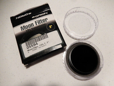 Orion 05594 2-Inch 13 Percent Transmission MOON FILTER Black