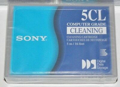 Sony 5CL DDS DG5CL Cleaning Cartridge NEW SEALED NOS Computer Grade JAPAN