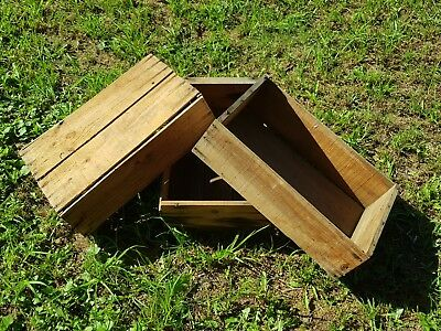 Rustic Timber Wooden Crate Boxes