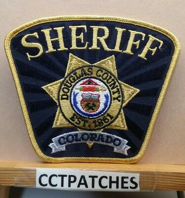 Douglas County, Colorado Sheriff (Police) Shoulder Patch Co
