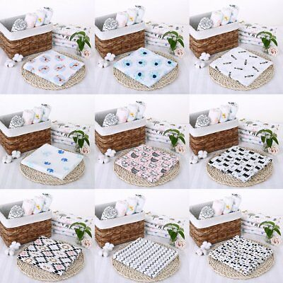 Muslin Cotton Newborn Infant Swaddle Baby Soft Blanket Parisarc Wrap Bath Towel