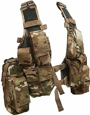 Multicam Military Assault Vests M83 With Hydro Pocket - Hd 900 Denier - Tas