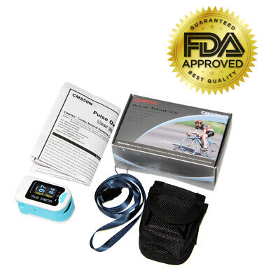 Fingertip Pulse Oximeter With Led Display - 3 Yr Warranty - Clearance