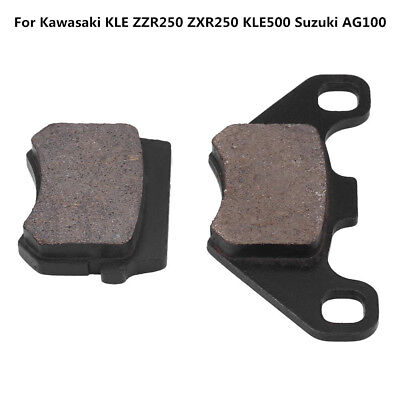 ATV Scooter Disc Brake Pads for Kawasaki KLE ZZR250 ZXR250 KLE500 Suzuki AG100