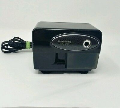 Panasonic Auto Stop Electric Pencil Sharpener KP-310 Suction Feet Vintage