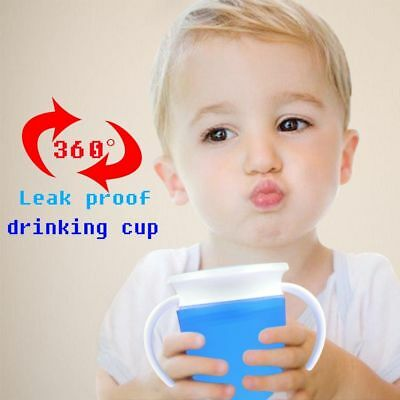 360 Degree Magic Cute Drinking Prevent Leaking Cup Training Cups For Baby Kids