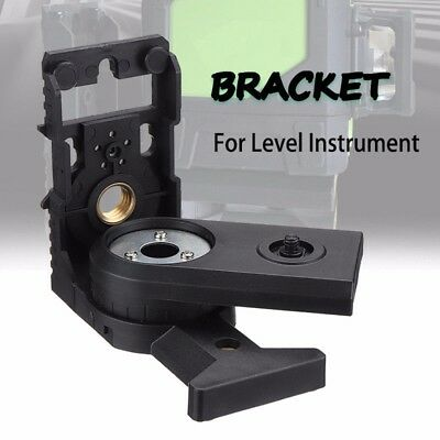 Magnetic L-shape 180° Bracket Tripod Adapter Holder For Universal Laser Levels