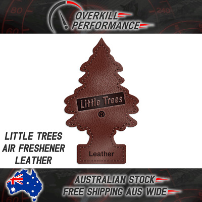 Little Trees Air Freshener Leather - Car Truck Taxi Uber Home Office