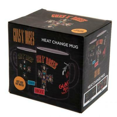 Guns N Roses Appetite Shooting Mug Licensed Heat Changing Brand New Boxed