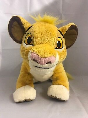 "Disney Parks 14"" YOUNG SIMBA Lion King Soft Toy Plush"