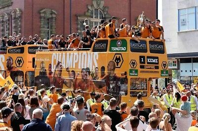 SALE WOLVES FC 2018 PROMOTION HIGH QUALITY PROFESSIONAL PHOTOGRAPH 12x8