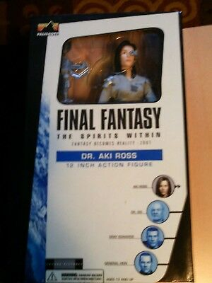 **** Final Fantasy Figur Dr. Aki Ross Ovp Nrfb***