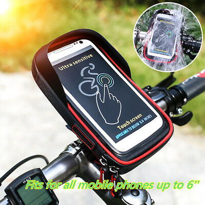 check out 7dc82 71ae4 WATERPROOF BIKE BICYCLE Motorcycle Handlebar Mount Holder Case bag For  iPhone X