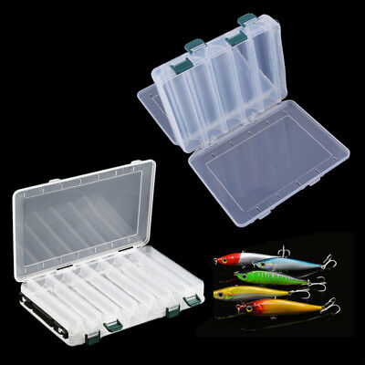 QUALITY DOUBLE SIDED PLUG/LURE/SPINNER BOX SMALL (10 Lures) or LARGE (14 Lures)