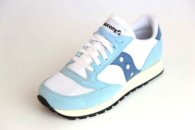reputable site e438f df57e Saucony Vintage Sneaker - Jazz Original - White   Blue - S-70368-25