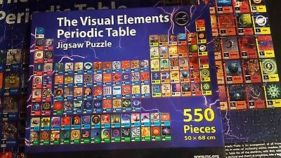 The visual elements periodic table larger 550 piecenot 500 jigsaw the visual elements periodic table larger 550 piecenot 500 jigsaw puzzle rsc urtaz Image collections