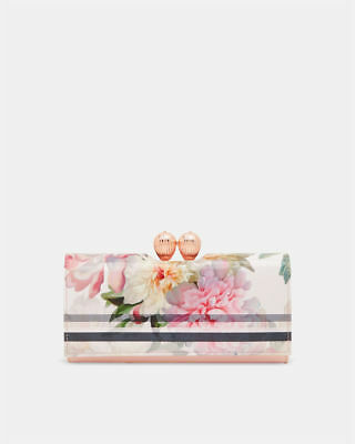 Ted Baker New With Box & Tags Baby  Pink Painted Posie Floral Matinee Purse