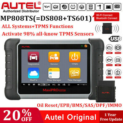 Autel MaxiPRO MP808TS Automotive Diagnostic Scanner TPMS Programming as MS906 BT