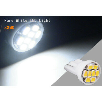 14x White LED Lights Interior Package for T10 31mm Map Dome + License Plate Kit