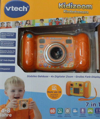 "Vtech Kidizoom Kinderkamera 7 in 1 / 4 x Digital. Zoom 1,8"" Farbdisplay NEU+OVP!"