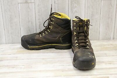 Keen Utility Milwaukee WP Boots - Men's Size 12D - Brown/Black