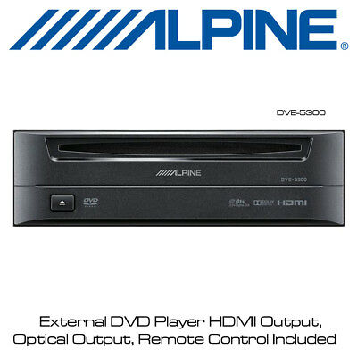 Alpine DVE-5300 External DVD Player for iLX-F903D, X902D, iLX-702D, INE-W997E46