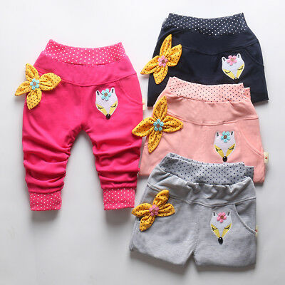 Kids Baby Girls Clothes Clothing Harem Pants Toddler Girl Children Long Trousers