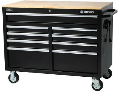 Beautiful Husky 36 In 12 Drawer tool Chest and Cabinet Combo