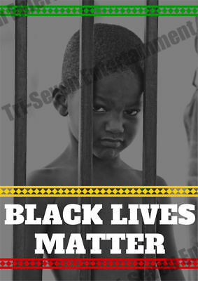 18x24 Black is Beautiful Poster Pan African Colors American Americana Africa
