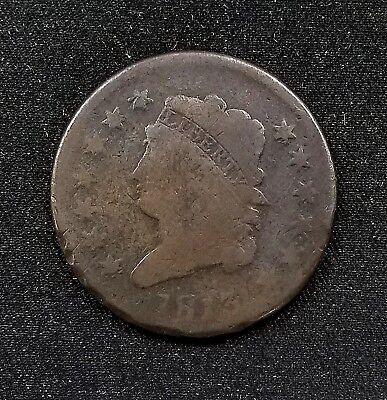 1813 Classic Head Large Cent! A mintage of only 418,000!