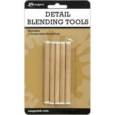 Ranger Detail Blending Tools - Double Ended Foam Tip - 5 Pack