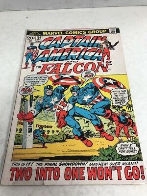 Marvel Comics Group Captain America And The Falcon # 156 Dec. 20 Cent Cover