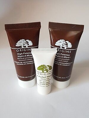Origins High Potency Night A Mins Renewal Cream Mineral-Enriched 1oz/30ml total