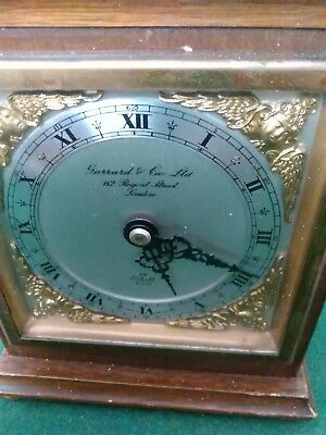 Elliott mantel clock by Garrard & co ltd