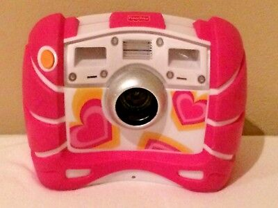 Fisher Price Tough Digital Camera Pink Hearts