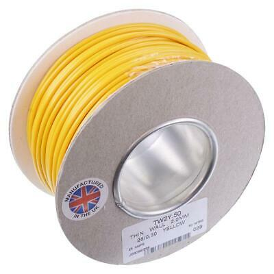 CRTW14 VARIOUS COLOURS 14 AMP THIN WALL 2MM POWER CABLE WIRING 100 METRE ROLLS