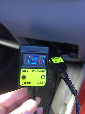 OBD Port Tester Checker. Safety for your Diagnostic Equipment and Code Reader