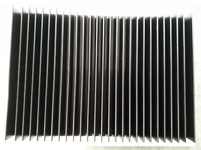 Large Heatsink - 1 pc new pre drilled black anodised 250mm 180mm 30mm approx