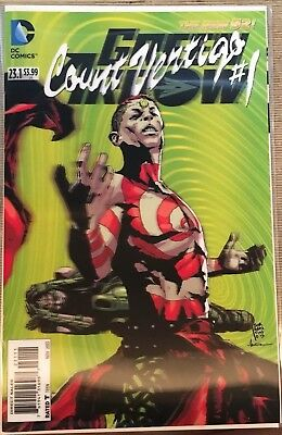 New 52 Green Arrow 23.1 Count Vertigo 3D Lenticular Cover First Print Near Mint