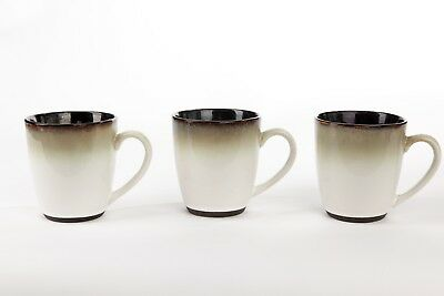 SANGO NOVA Black 4932 Coffee Mugs Cups Set of 5 - $35.00 | PicClick