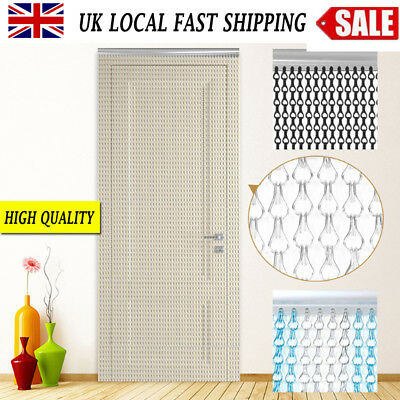 Aluminium Metal Pest Control Chain Link Insect Fly Door Curtain Blinds Screen UK