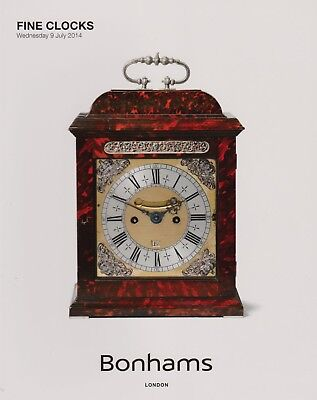 Fine Clocks Auction Catalogue