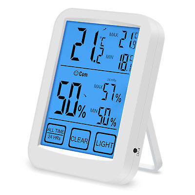 Digital Indoor Temperature & Humidity Monitor Hygrometer Thermometer Health Care