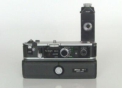 Nikon MD-2 Motor Drive w/MB-1 Battery Pack for F2 35mm SLR Cameras