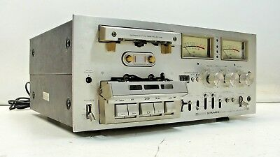 Pioneer CT-F1000 Stereo Cassette Deck As Is Just Changed Belts