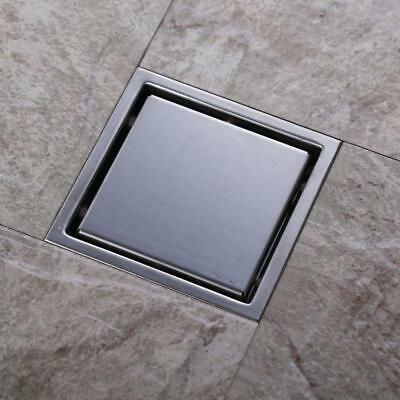 Floor Drain Shower Drain Chrome Stainless Steel With Wet Room Drainage Cover