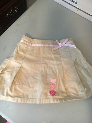 Girls Size 5 Khaki Skirt Carters